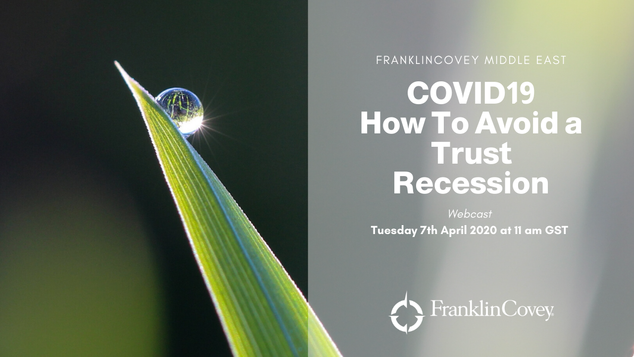 Webcast: How To Avoid A Trust Recession