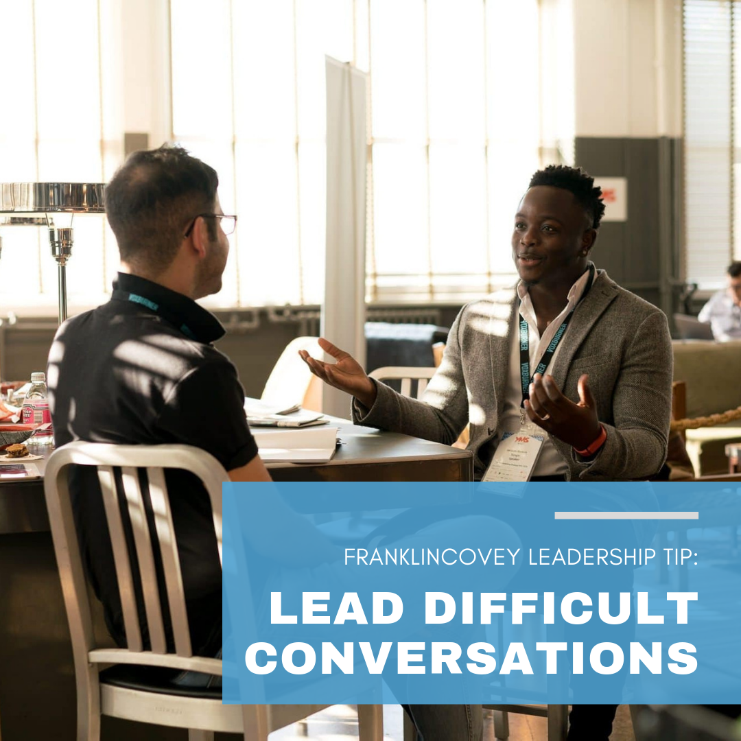 Leadership Tip: Lead Difficult Conversations