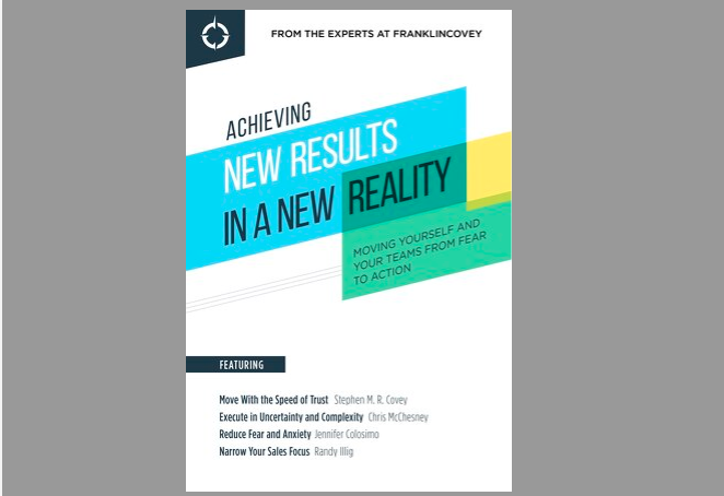 Ebook: Achieving New Results in a New Reality