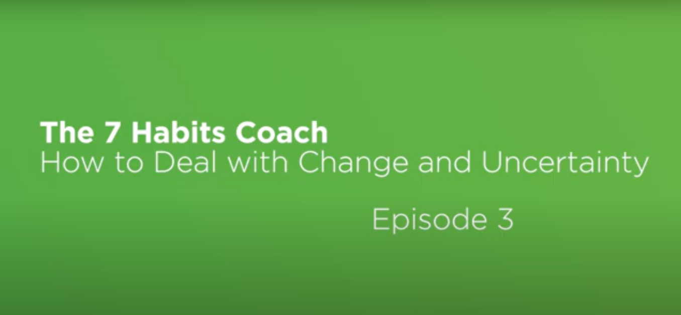 Video: The 7 Habits Coach: Episode 3