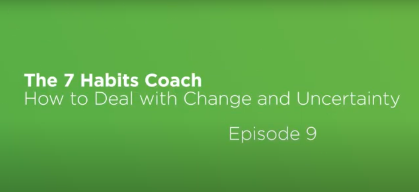 Video: The 7 Habits Coach: Episode 9