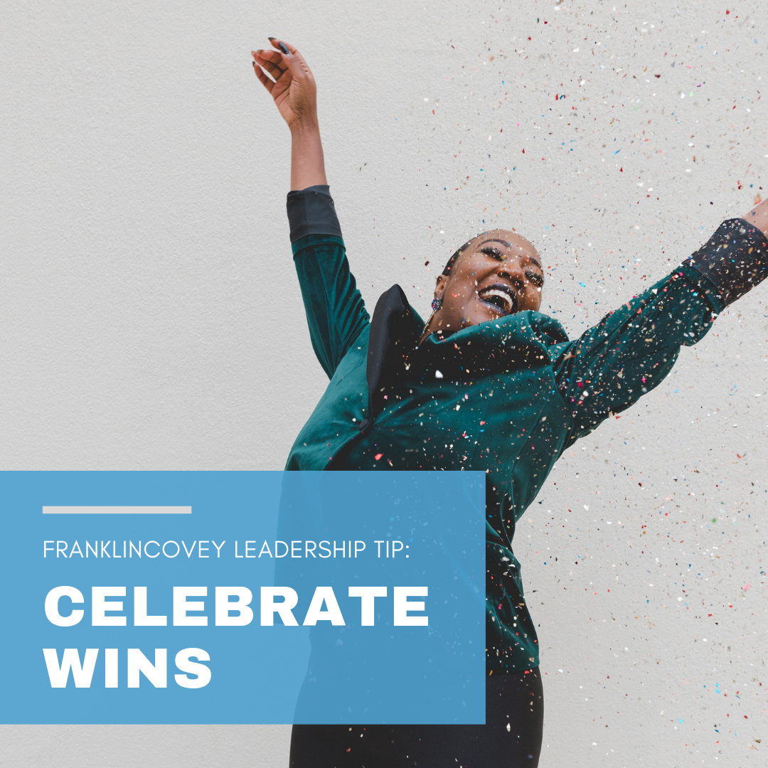 Leadership Tip: Celebrate Wins