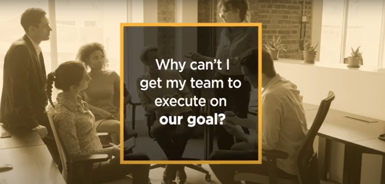Video: How can I get my team to execute on our goal?