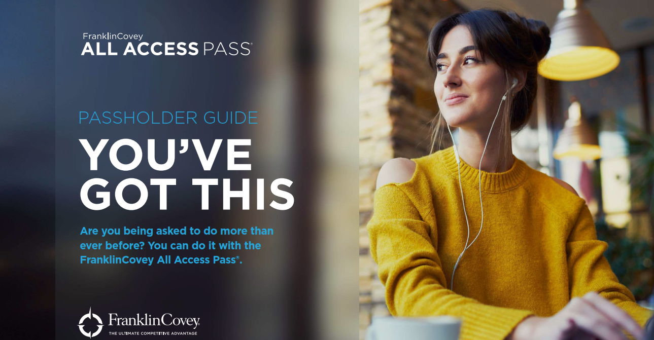Passholder Guide: You've Got This