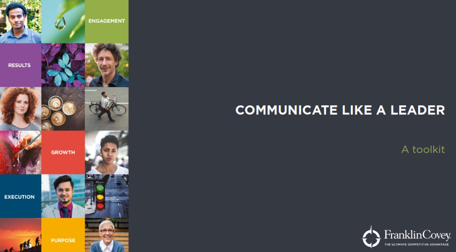 Communicate Like a Leader Toolkit