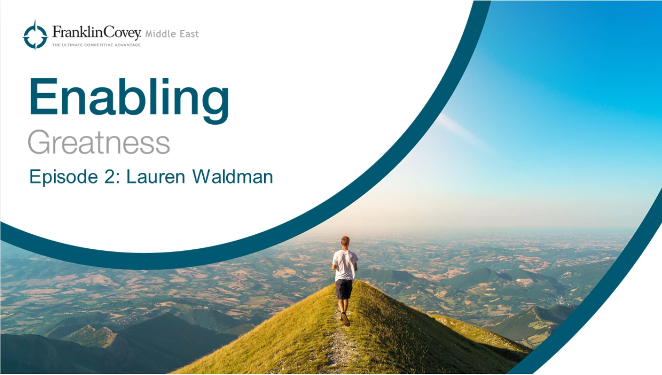 Enabling Greatness Podcast Episode #2: How did we form our behaviors around learning?
