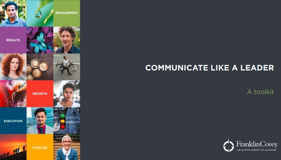 Toolkit: Communicate Like a Leader